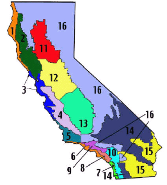 California Title 24 climate zones